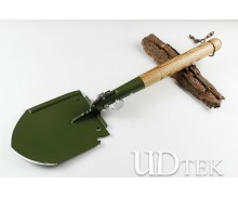 Chinese high carbon steel Universal armor multifunctional spade shovel UD4052071