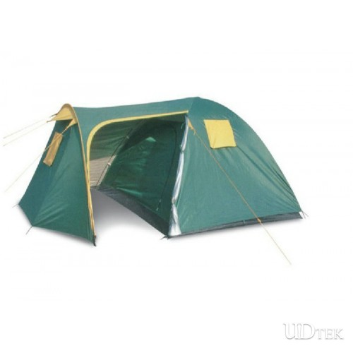 High Quality Outdoor supplies wholesale Bedroom more than family tent camping tent UDTEK01550