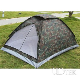 Double Monolayer Camouflage Tent Camping Tent UDTEK01552