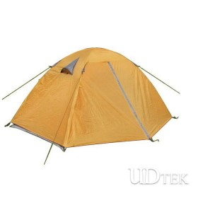 High Quality Mountain 190T double-door double extension aluminum pole camping tent UDTEK01553
