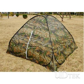Outdoor supplies 3-4 people camouflage fast corners tent camping tent UDTEK01556