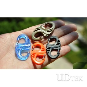 Bag buckle  Climbing button carabiner  UD06017
