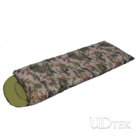 New Digital Camo envelope sleeping bag thicken and windproof UD16009