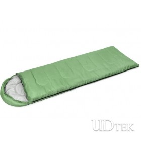 Envelope sleeping bag with cap,summer fallow camping sleeping bag UD16010