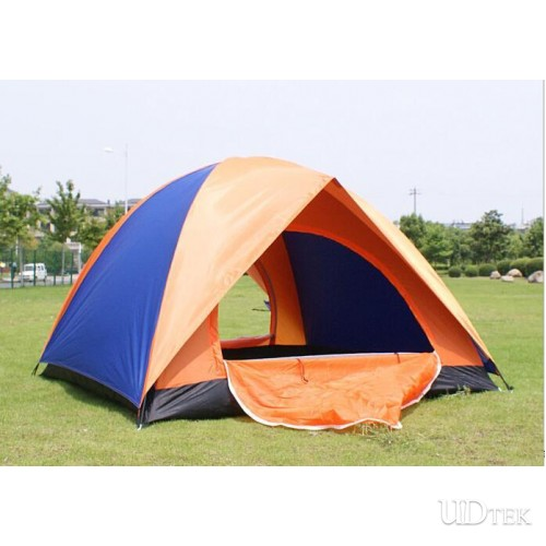 Outdoor Camping Tent Four People Double Door double layer Tent Waterproof Tourism Camping Tent UD16022