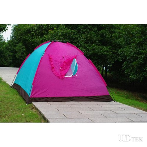 Increasing Style Many People Waterproof Tent Camp Tent Double Layer Camping Six People Tent UD16026