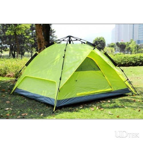 Automatic Outdoor Tent 3-4 People Rainproof Camping Equipment Double Laye tent UD16029
