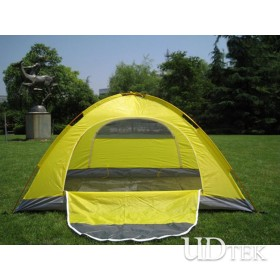 Two People Double Layer Aluminium Pole Tent Many People Outdoor Tent Camping Tour Tent  UD16031
