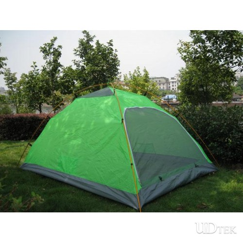Double Layer Double Door Open Aluminium Pole Tent Taped Anti Heavy Rain UD16034