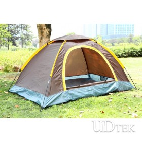 Outdoor Two People Double door open Adhesive Tent 2 Persons Camping Tent Beach Tent UD16038