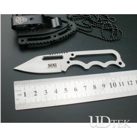 SOG555  stainless steel mini keychain knife small Hanging knife UDTEK2026