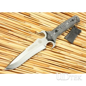 High Quality Micarta Handle OEM MOD Assault Knife Combat Knife UDTEK01332