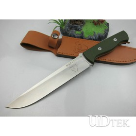 Hot Selling RAT-7 Exploer Fixed Blade Knife Camping Accessory UDTEK01333