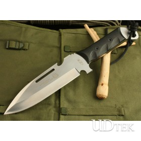 High Quality OEM Strider D800 Straignt Knife Combat Knife with Micarta Hnadle UDTEK01357
