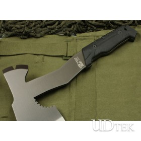 Golden Coating Surface Hunting AXES Outdoor Tool with Rubber + Plastic Handle UDTEK01365