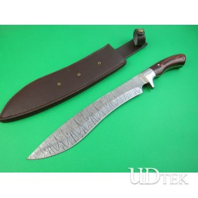 Black fox series--Leader (Zebra) combat knife UDTEK01919
