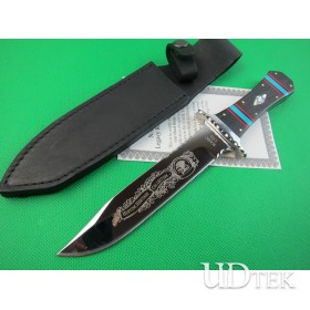 HUNTING HERITAGE COLLECTION STRAIGHT KNIFE COMBAT KNIFE  UDTEK01940