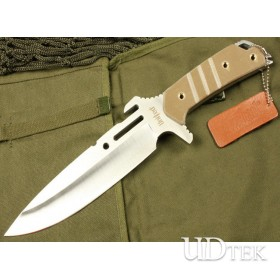 OEM UC-2605 Fixed Blade Combat Knife with G10 Handle UDTEK00673