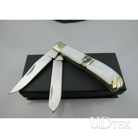 2013 New Arrival 8Cr13MOV Stainless Steel OEM Damascus Steel Pocket Knife Handle Tool UDTEK01211