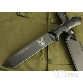 High Quality American Army Survival Knife Training Knife for Army UDTEK01226