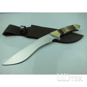 High quality handwork dog leg machete UDTEK01237