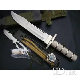 BLACK&WHITE VERSION OEM AITOR JUNGLE KING NO.I FIXED BLADE KNIFE UDTEK00590