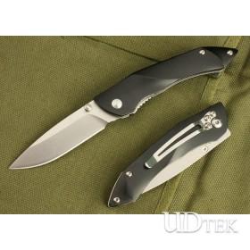 Blue/Grey Color BEE M026BK Pocket Knife Master Knives with Aluminum Handle UDTEK01432