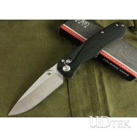 High Quality BEE EL02 Dealer Knife Paper Cutting Knife with G10 Handle UDTEK01436