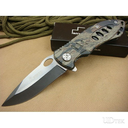 Boker 609BS tactics folding knife(camo) UD40442