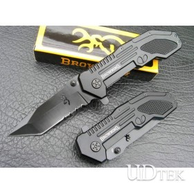 56HRC STAINLESS STEEL OEM BROWNING 123B TACTICAL FOLDING KNIVES UDTEK00309