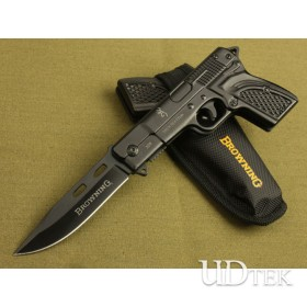 Browning-gun type folding knife UD40729