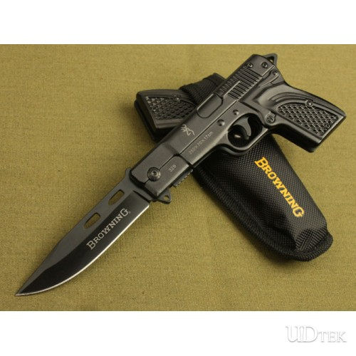 Browning-gun type folding knife UD40729