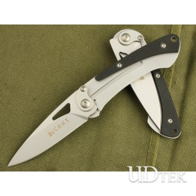 8CR13MOV 58HRC COLUMBIA-WOODPECKER FOLDING KNIFE &HUNTING KNIFE WITH CLIP UDTEK00220