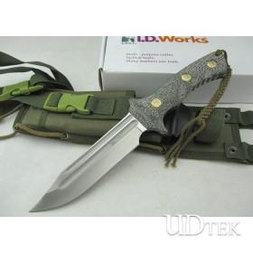OEM Columbia CRKT.2980 Fighting Knife Tactical Knife with Micarta Handle UDTEK00452