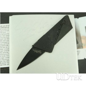 HIGH QUALITY OEM CREDIT CARD PORTABLE FOLDING KNIFE SURVIVAL KNIFE TOOL KNIFE UDTEK01852