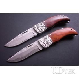 OEM DAMASCUS STEEL COLLECTION KNIFE FOLDING KNIFE RESCUE KNIFE HUNTING KNIFE  UDTEK00549