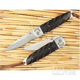 OEM DAMASCUS STEEL COLLECTION KNIFE FOLDING KNIFE UDTEK00557