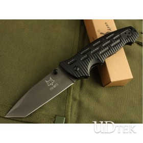 BLACK OEM Fox DA8 FOLDING BLADE KNIFE UDTEK00420