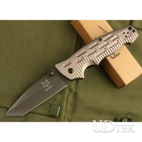 BROWN VERSION OEM Fox DA8 OUTDOOR KNIFE UDTEK00421