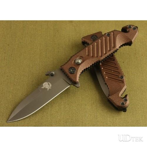 3CR13 54HRC OEM Fox X10 FOLDING OUTDOOR KNIF UDTEK00433