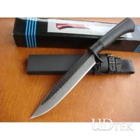 BLACK OEM KANETSUNE CW-4 FIXED BLADE WOOD HANDLE HUNTING KNIFE UDTEK00600