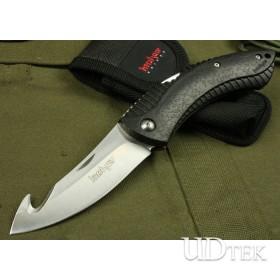 Hot Selling OEM Kershaw 1090GHX Back Lock Saber Knife with Rubber + Plastic Handle UDTEK01456