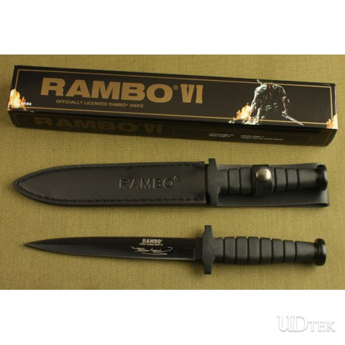OEM RAMBO NO 6 TWO-EDGED THORN FIXED BLADE KNIFE UD40559
