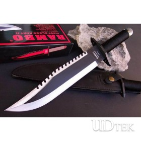 OEM RAMBO FIRST BLOOD II SURVIVAL KNIFE FIXED BLADE KNIFE UD48812