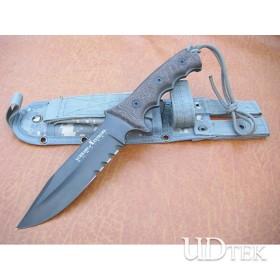 OEM SCHRADE EXTREMA CAMOUFLAGE SURVIVAL FIXED BLADE KNIFE UDTEK00370