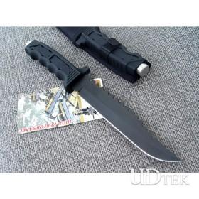 OEM SR009 CANINE COMBAT KNIFE FIXED BLADE KNIFE RESCUE KNIFE SURVIVAL KNIFE  UDTEK00509