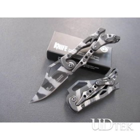 MINI SZIE TIGER TATTOO&BLACK VERSION OEM SR MECHANICAL KNIFE OUTDOOR KNIFE UDTEK00524