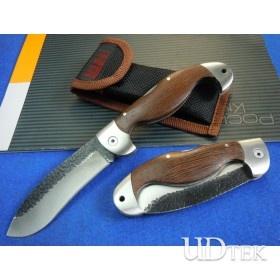 BODA handmade Traditional solid wood handle knife with forging Forged blade UDTEK02009