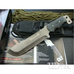 OEM TOPS 2011 LIMITED EDITION HAND-SIGNED FIXED BLADE KNIFE HUNTING KNIFE GIFT KNIFE UDTEK00623