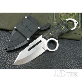 DREAM TOPS M2 FIXED BLADE HUNTING KNIFE WITH G10 SCABBARD UDTEK00625